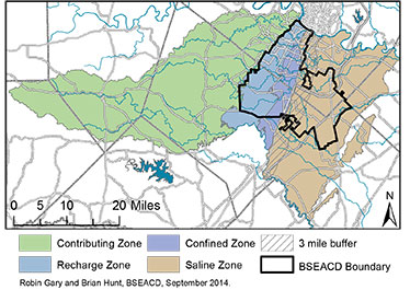 BSEACD Hydro Zones