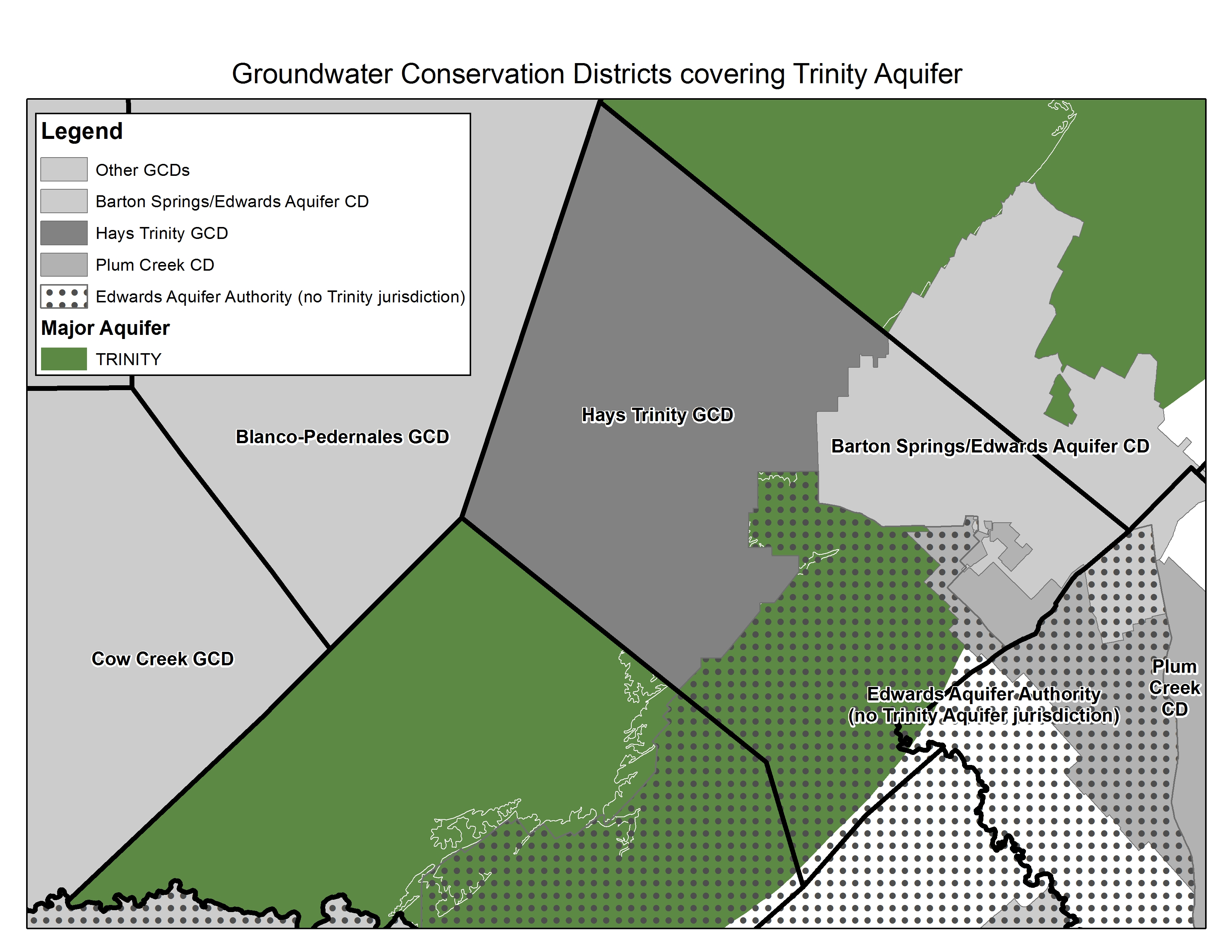 Central Hays County Groundwater Evaluation - Barton Springs